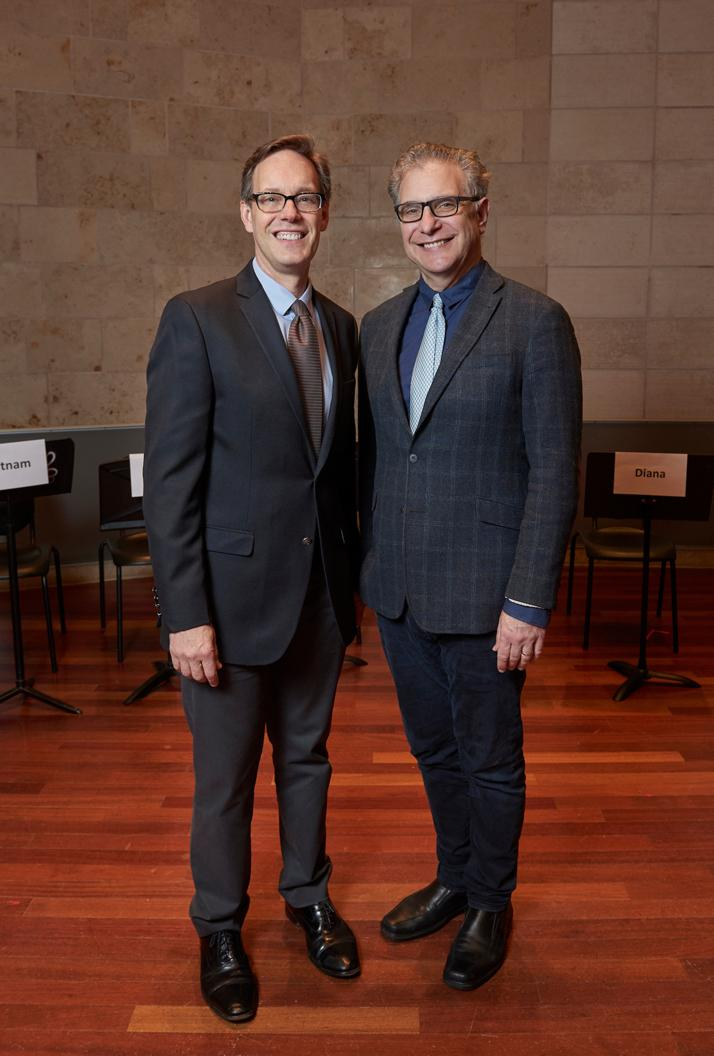 Composer Jake Heggie and Librettist Gene Scheer